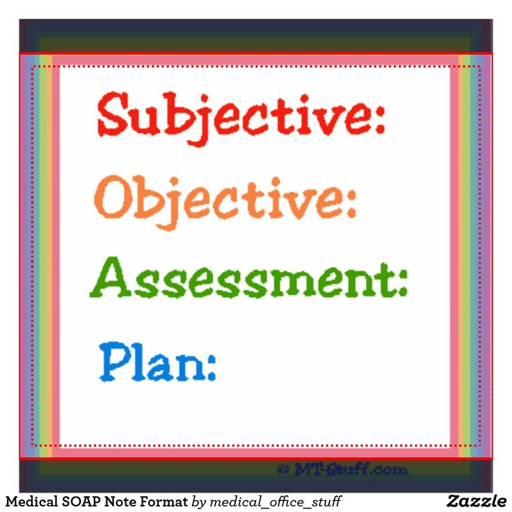 Subjective objective assessment and plan Coursework Academic Writing