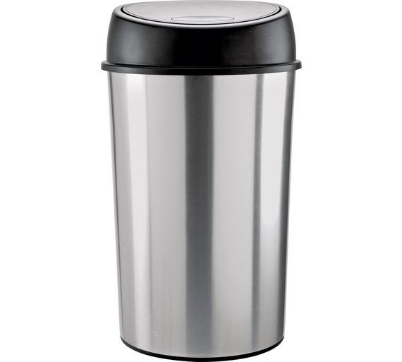 Buy ColourMatch 50 Litre Touch Top Bin - Silver at Argos.co.uk - Your Online Shop for Kitchen bins, Kitchenware, Cooking, dining and kitchen equipment, Home and garden.