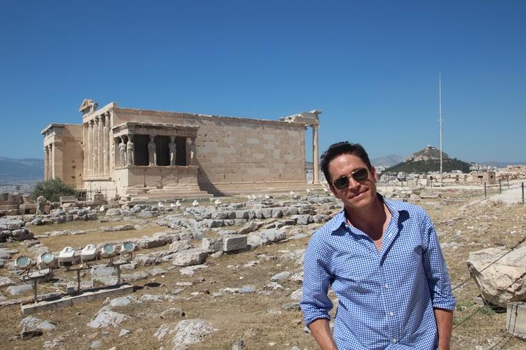 Erechtheion Temple Acropolis Athens Greece - Dave Koz & Friends at Sea - 2013 Italy, Greece & Sicily The Smooth Jazz Cruise - http://www.davekozcruise.com