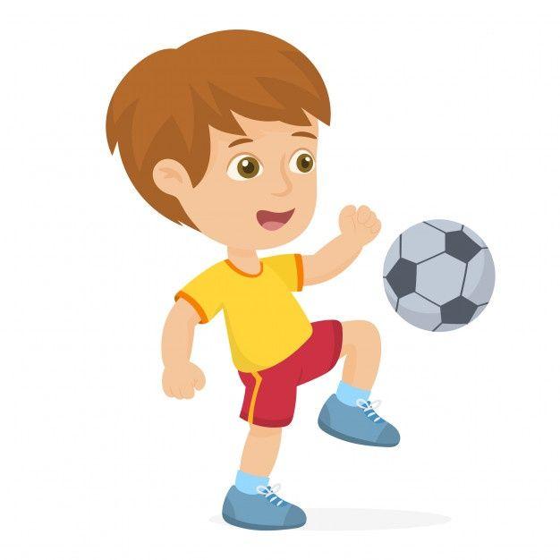 Nino Pateando Una Pelota Vector Premium Premium Vector Freepik Vector Escuela Deporte Aptitud Futbol Dibujos De Futbol Jugar Futbol Futbol Callejero