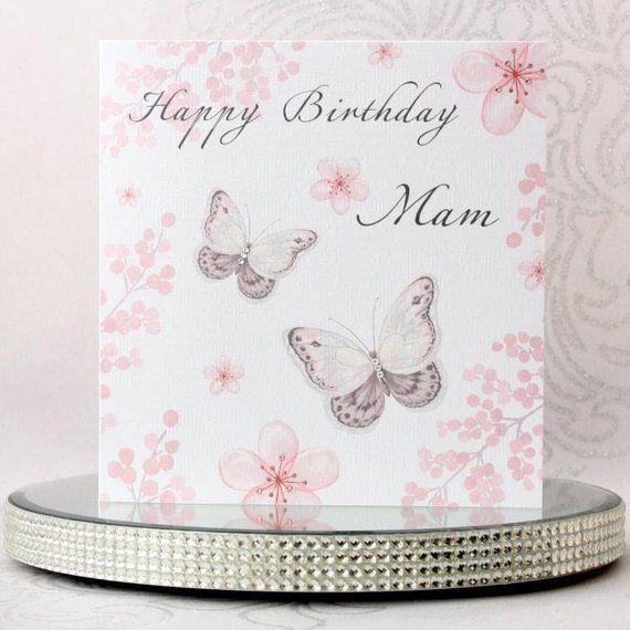 Luxury Handmade Personalised Birthday Card Watercolour Etsy Birthday Cards Beautiful Birthday Cards Luxury Birthday Cards