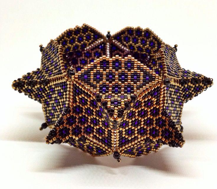 Nancy Jenner - geometric beadwork