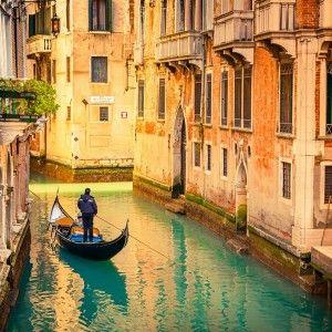 Gondole, Venise, Italie