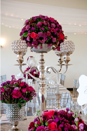 the vintage table scape: Bloom, Table Top