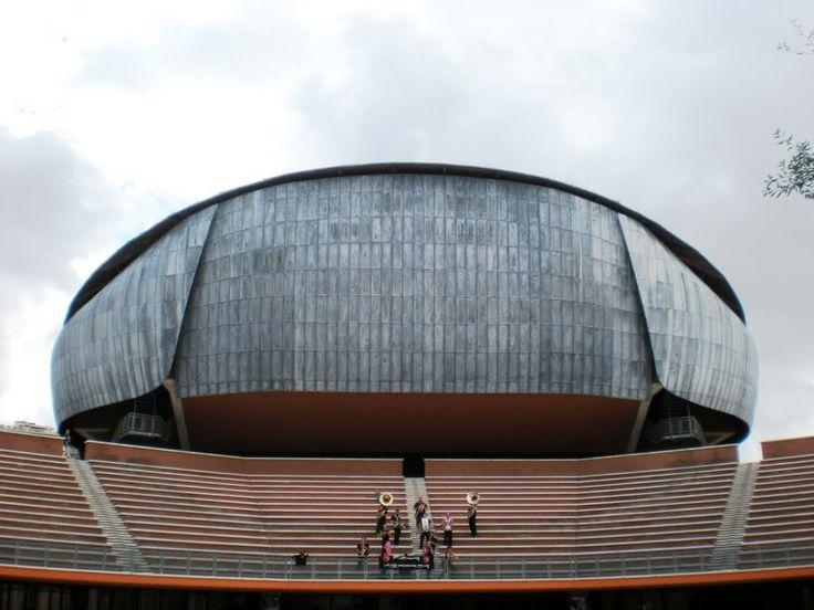 Auditorium Parco della Musica di Roma, Renzo Piano