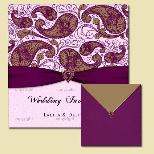 Indian Wedding Invitation - Online Indian Style Wedding ...