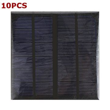 Only US$59.59, buy best 10pcs 3W 6V Epoxy Solar Panel Solar Cell Panel DIY Solar Charger Panel sale online store at wholesale price.US/EU warehouse.