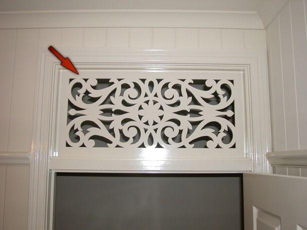 Breezeway Panel above door