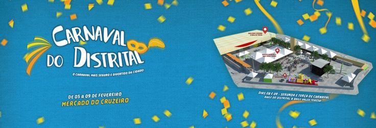Nos cinco dias de folia, o Mercado do Cruzeiro receberá oito bailes temáticos, sendo três voltados para o público infantil. A coordenação geral das festas é da Cria!Cultura, que está cuidado de todos detalhes para que o folião possa brincar com a máxima segurança e conforto.Acessando cada evento, você confere a programação completa!---05 de fevereiro - Sexta-feira19h/01h - Noites Libertinas - Baile da Alcova Libertina (Adulto)06 de fevereiro - Sábado de Carnaval15h/18h - Benteviuzinho…