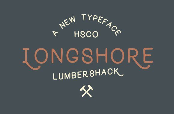 Longshore - Hand Drawn Font by Hustle Supply Co. on @creativemarket