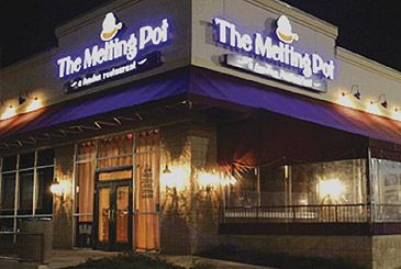 the melting pot restaurant... really want to go here