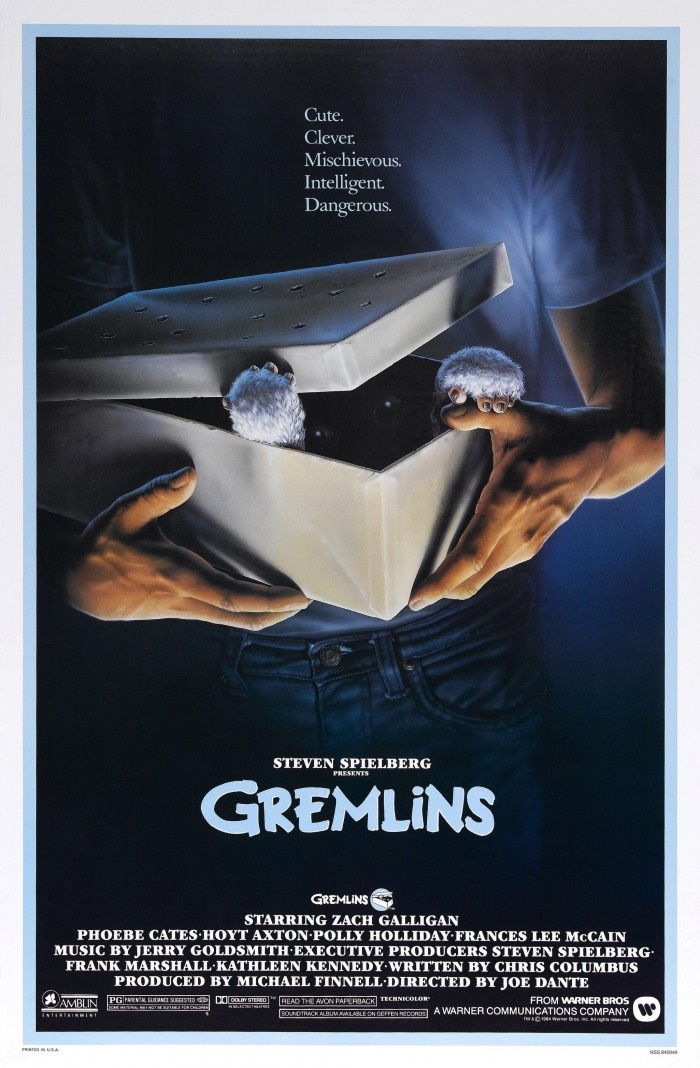 Gremlins (1984) I actually dressed up as the head instigator Gremlin Stripe for Halloween '84! Ha!!!