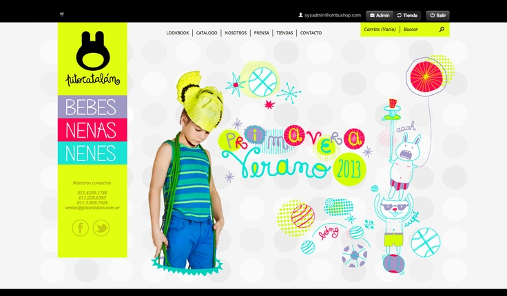 Pito Catalán, la ropa más linda para bebes y nenes: www.pitocatalan.ombushop.com