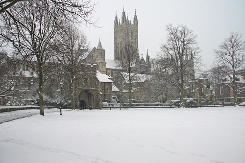 Canterbury Cathedral accommodation in Canterbury, Kent UK