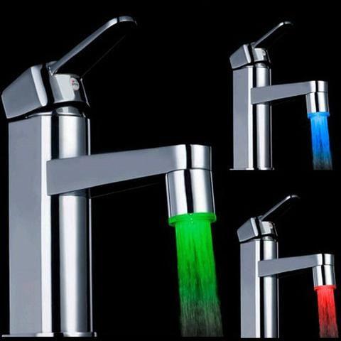 GlowSink - Temperature Sensing / Water Powered LED Faucet