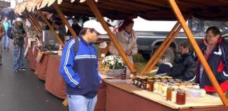 V Koterově se už počtvrté uskutečnil Medový jarmark