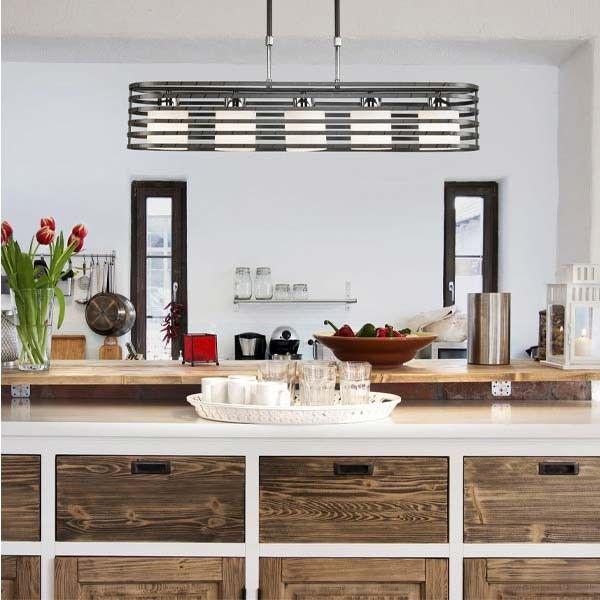 lmpara techo cell wengu luces perfecta para cocinas y salones de