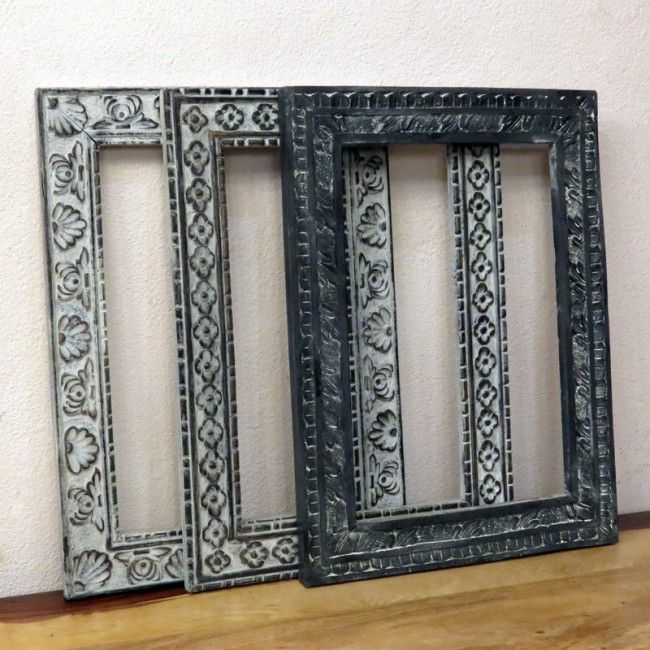 Резная рама для зеркала Shaant, 43х57 см (в ассортименте)