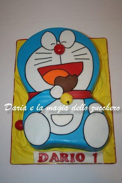 229 best images about Children cakes/Torte bambini on ... Dora Cake Doraemon