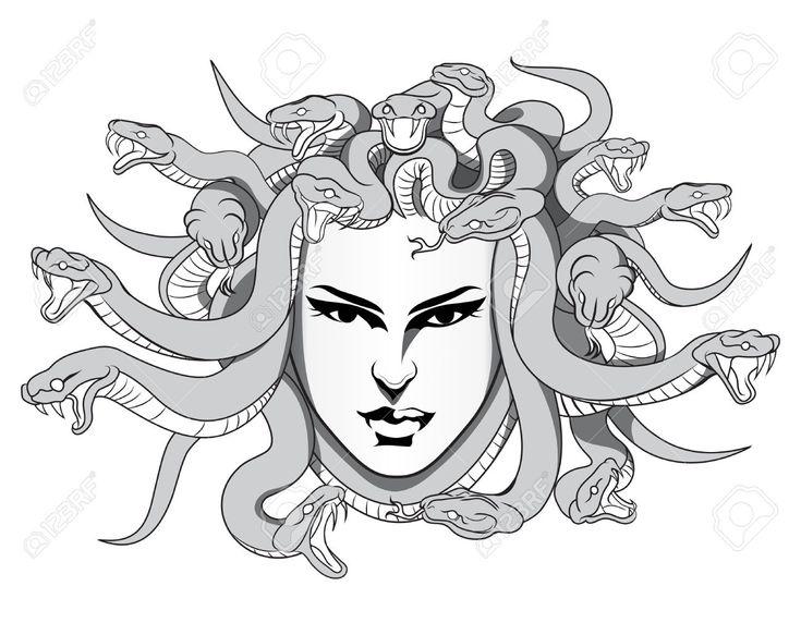 M duse mythologie dessin recherche google gr ce et - Dessin mythologie ...