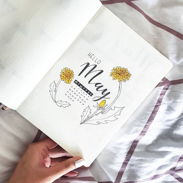 40+ Bullet Journal Monthly Cover Ideas Only For Artistic Souls