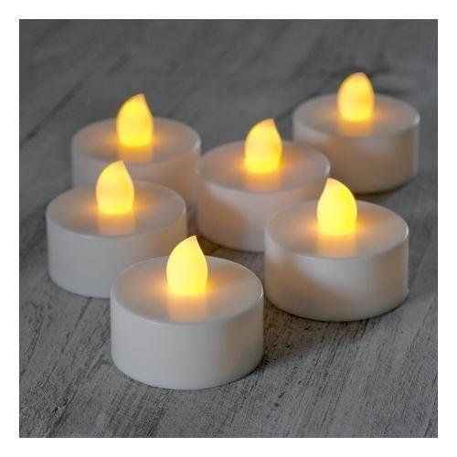 100 velas led para tu bodas o evento duran mas de 100 horas