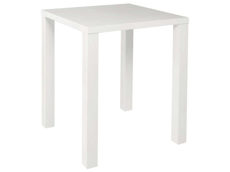 Table De Bar Blanc