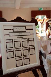 Gorgeous table plan