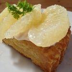 アンノン クック  - 料理写真:グレープフルーツのタルト