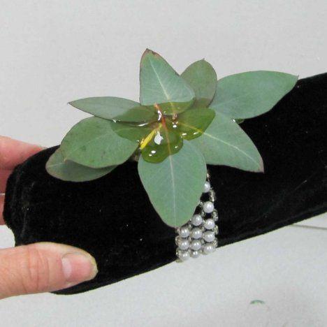 How to Make a Wrist Corsage - Easy DIY Wedding Flower Tutorials                                                                                                                                                                                 More