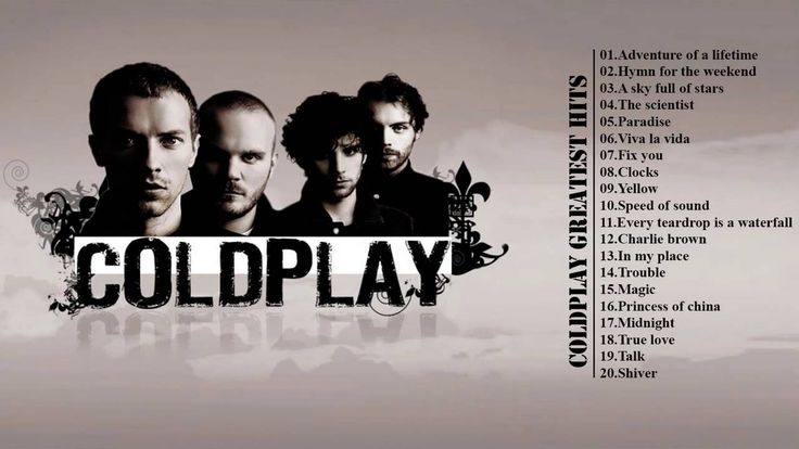 Coldplay Greatest Hits Album || Best Songs Of Coldplay [2016 - 2017]