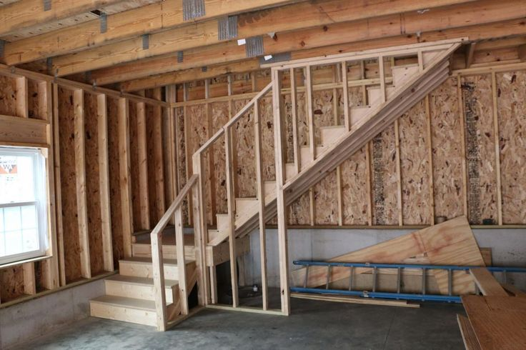 New 24 X34 Detached Garage With Attic Trusses The