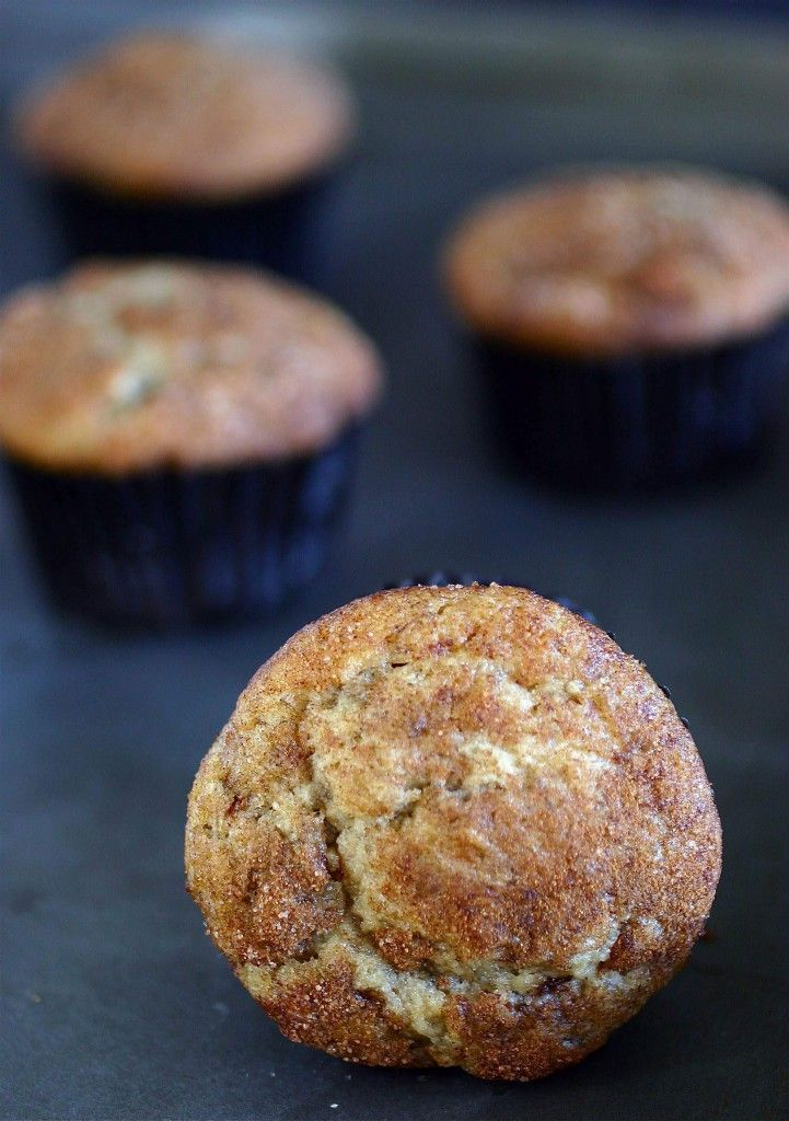 Cinnamon Swirl Banana Muffins - I changed this by adding vanilla yogurt instead of butter, vanilla, and the egg because I wanted it healthier and didn't have some of the ingredients. Worked out well.