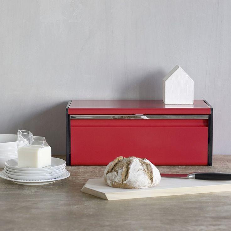 Chlebak prostokątny BRABANTIA - czerwony