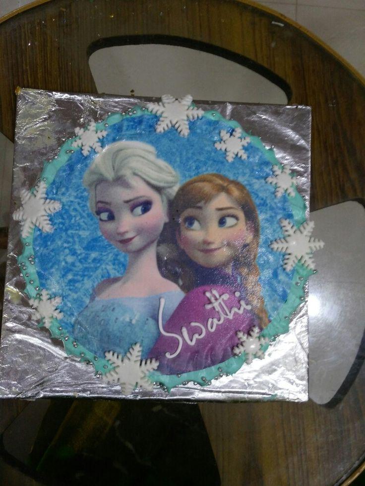 Frozen  Sister love  Cakeinterest