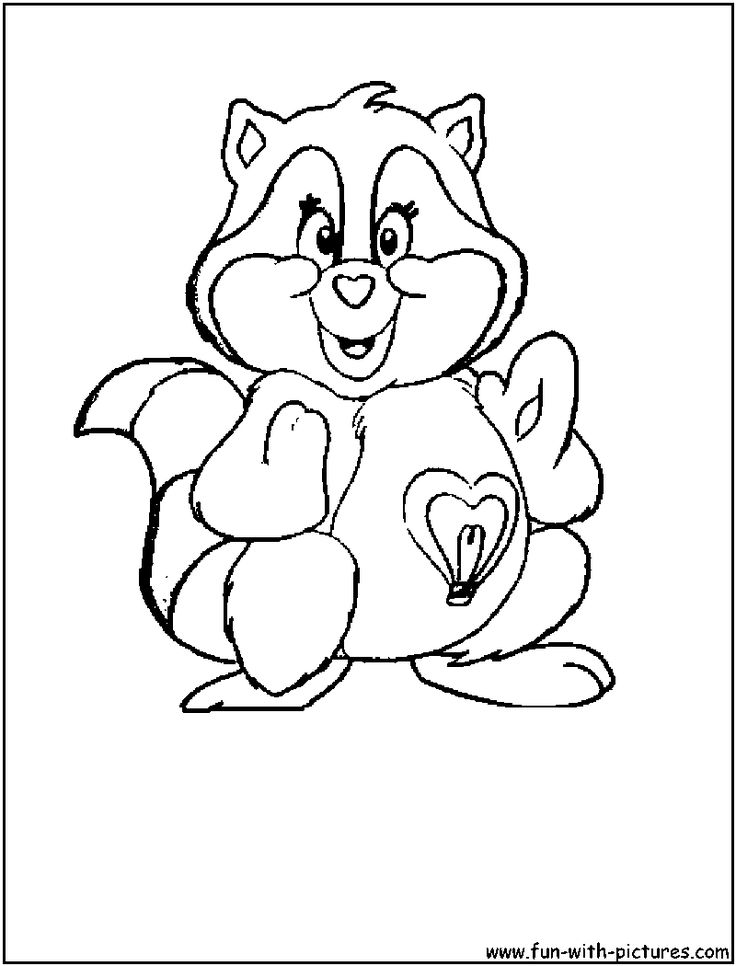 care bear cousins coloring pages google search - Cartoon Coloring Pages
