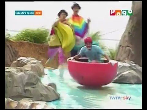 Liked on YouTube: Takeshi's Castle - Episode 02 - Hindi Dubbed - Javed Jaffrey's Voice - HD