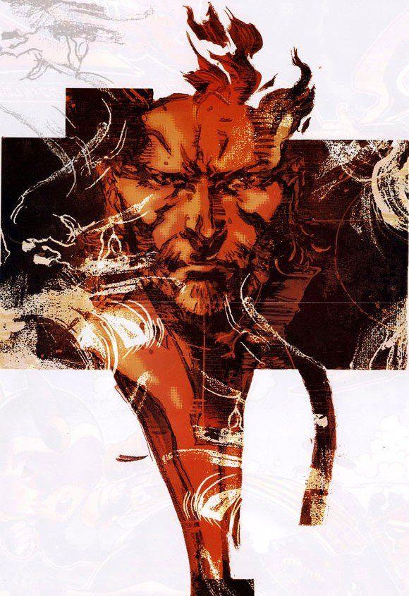 metal gear solid | ... alguma artwork de Metal Gear Solid e achei esta, do terceiro jogo