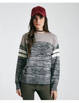 marled-stripe-sweater by wet-seal  #fashion #style #stylish #fashiontrend #awesome #shoptagr