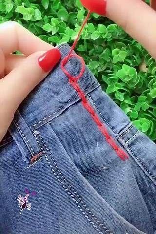 15 EINFACHE NÄHHAKEN, DIE IHR LEBEN VERÄNDERN – Yahoo Video Search Results   – Jeans