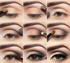 Come truccare gli occhi marroni