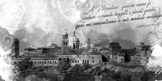 Mantova artwork by Laurynboc  lauraboccola.com   #mantova #photoshop #watercolor