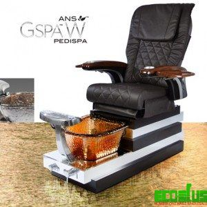 GSpa W Spa Pedicure Chair , Guarantee lowest price on the market for Pedicure chairs and nail salon products . Call now to get off 30% , See more at : http://econail.us/product-category/ans-pedicure-chairs/