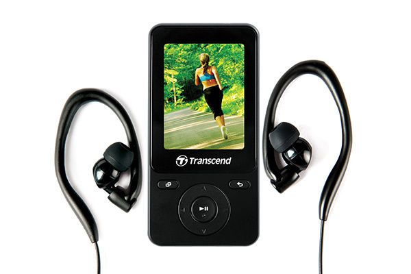 Transcend MP710 8GB MP3 Music Player Step Counter TS8GMP710 Fitness Sports video #Transcend