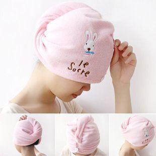 ( 6 шт. / lot ) комикс кролик Elephant волос сушка кепка шляпа быстрая сушка полотенце личная гигиена высокая высоких технологий текстильный прошитый