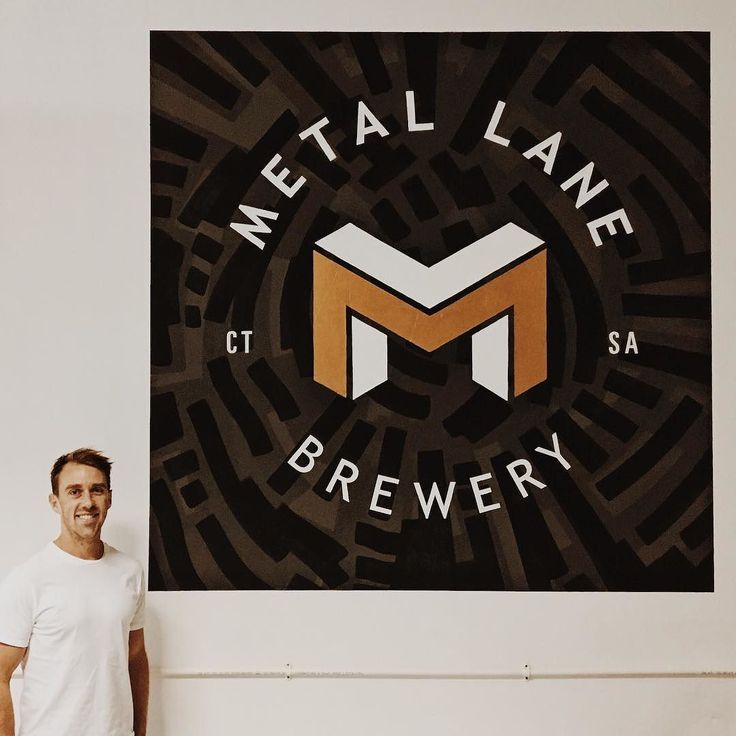 This is inner city brewing to the max - @metallanebrewery by the main man @murraymiddleton - on Kloof Street. I am so excited about this branding. Yes the beer is going to take to the shelves by storm but the actual brand is going to knock the market for a six. No doubt. Murray and his designer have taken the time - some would say extra time - to unpack what Metal Lane Brewery will mean to everyone who picks it up. Not only that but they've unpacked the whole industry to make sure the brand…