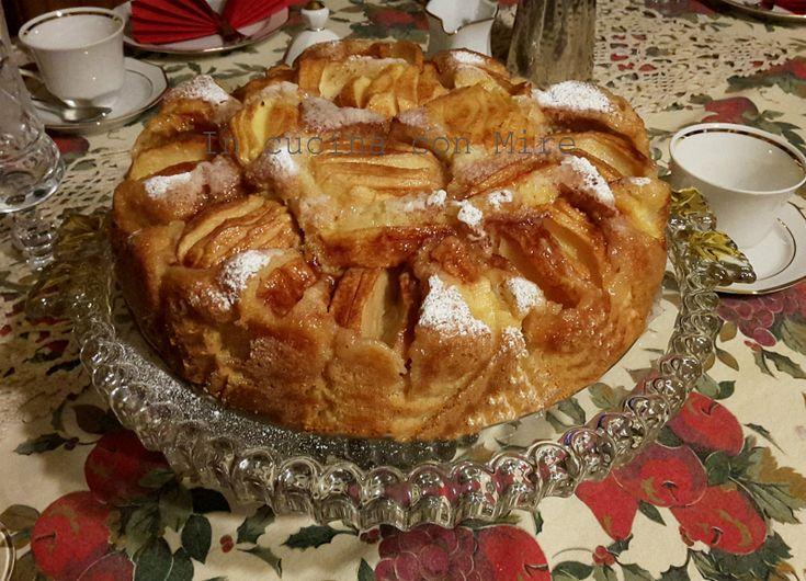 Torta di mele – ApfelKuchen ricetta tedesca, volete una morbida speziata e golosa torta di mele allora dovete leggere la ricetta e farla è troppo buona.