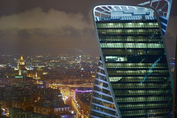 Смотровая площадка «Студия 54» в башне «Федерация Запад» ММДЦ «Москва-Сити» Москва