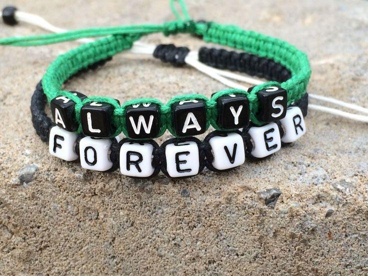 His & Hers Forever Always Couples Bracelet Lovers Braclet Friendship CP-434 #Unbranded #CouplesBracelet