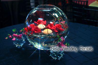 Wedding Centerpiece Rentals - Guest Table Centerpieces - Centerpiece Rentals - Wedding Reception Centerpieces